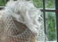 bridal hat, fascinator and vale